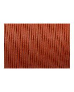 Comprar algodón encerado para pulseras naranja