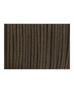 Algodón encerado marrón chocolate