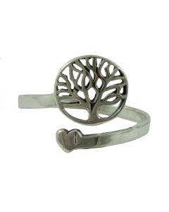 Comprar anillo árbol de la vida de plata de ley