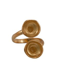 Comprar anillo dorado para Swarovskis