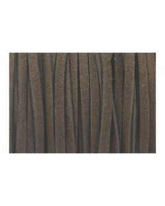 Antelina marrón oscuro