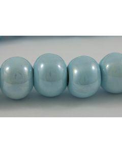 Comprar bola azul claro esmaltada de 16 mm