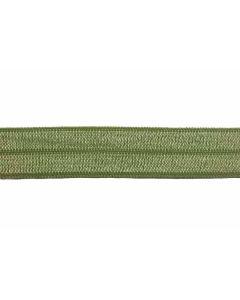 Cinta elastica verde oliva para pulseras