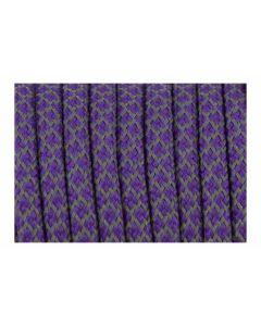 Comprar cordón paracord morado con brillo de 5 mm