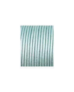 Cordón cuero metálico azul cielo 1,5 mm