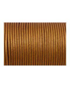 Cuero metálico color cobre 2 mm