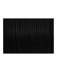 Cuero negro 2 mm