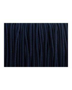 Comprar cordón elástico azul marino