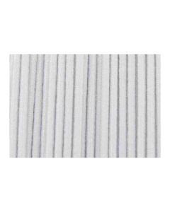 Cordón elástico blanco