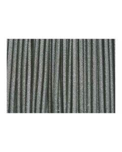 Cordón elástico para pulsera gris