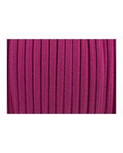 Cordón elástico fucsia de 4 mm