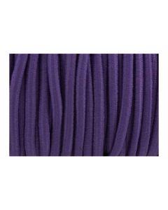Cordón morado elástico