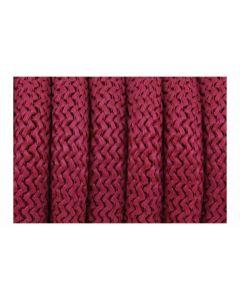 Pulsera color burdeos de cordón paracord