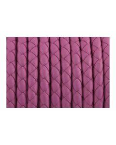 Comprar cuero trenzado rosa para pulsera