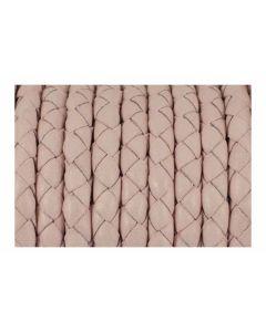 Comprar cuero trenzado rosa claro para pulsera