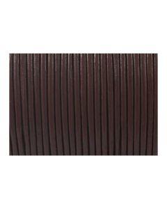 Cordón cuero marrón 1,5 mm