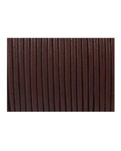 Cuero marrón de 2 mm
