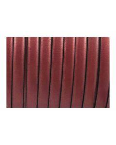 Cuero plano de color cobre metal