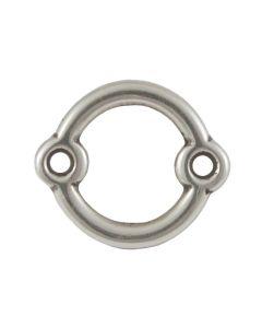 Comprar entrepieza círculo con doble anilla de 17 mm