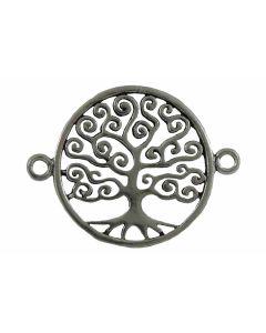 Entrepieza plata árbol de la vida
