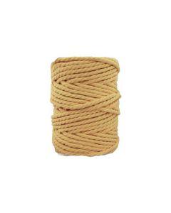 Comprar hilo macramé amarillo pálido 5 mm