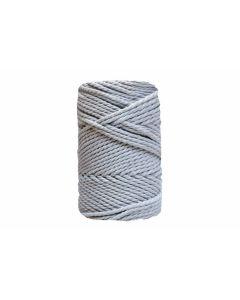 Comprar hilo macramé 3 mm gris claro