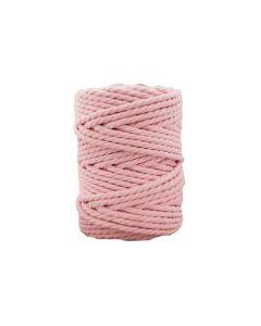 Macramé color rosa bebé de 5 mm