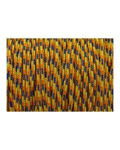 Pulsera color amarillo de cordón paracord