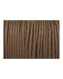 Cordón paracord marrón liso 2,5 mm