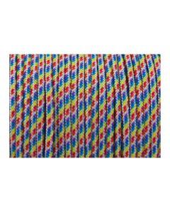 Pulsera multicolor de cordón paracord
