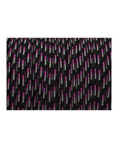 Pulsera de cordón paracord color negro