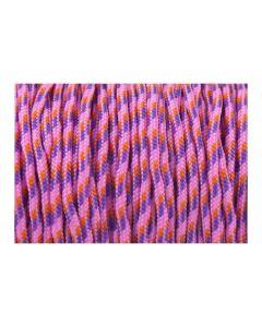 Pulsera color rosa de cordón paracord