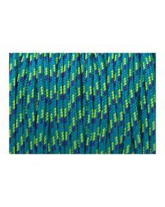Pulsera color turquesa de cordón paracord