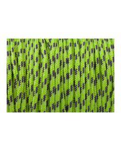 Pulsera color verde fluor de cordón paracord