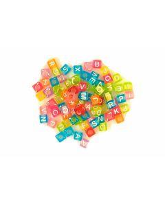 Comprar cuentas letras de colores