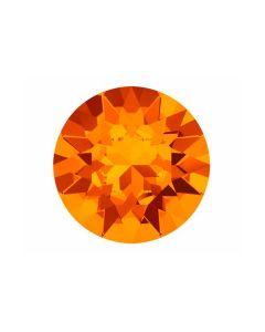 Swarovski de 8 mm color tangerine